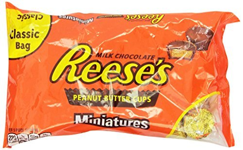 Reese's Peanut Butter Cup Miniatures, Sugar Free, 8.8-Ounce