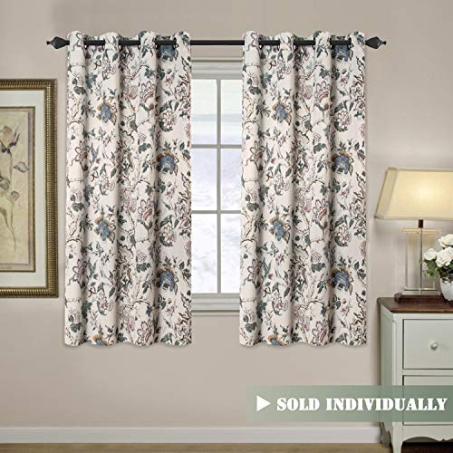 vintage pattern curtains - 1