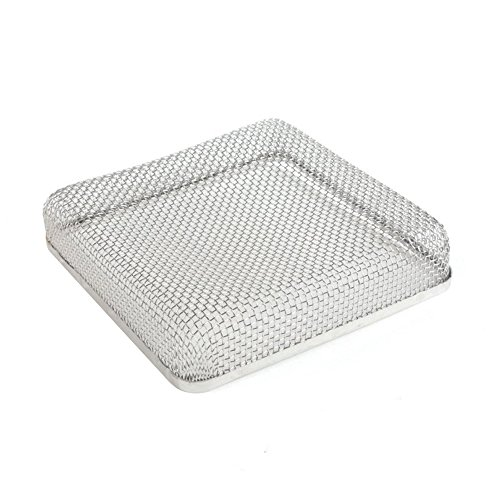 - ALEKO RVS013 Stainless Steel RV Vent Screen for Bugs Birds Rodent Protection 6.7 x 6.7 x 1.3 Inches