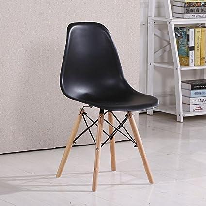 Sillas de plástico minimalista moderno escritorio silla ...
