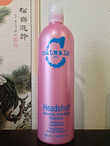 TIGI Catwalk Headshot Heavenly Hydrating Shampoo, 25.36 fl oz / 750 (Tigi Catwalk Head Shot)