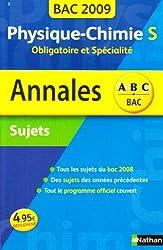 ANNAL 09 ABC SUJ PHY CHIM S