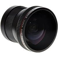 Opteka HD2 0.20X Professional Super AF Fisheye Lens for Nikon Nikon D4s, D4, D3x, Df, D810, D800, D750, D610, D600, D7200, D7100, D7000, D5500, D5300, D5200, D5100, D3300, D3200, D3100 and D3000 Digital SLR Cameras