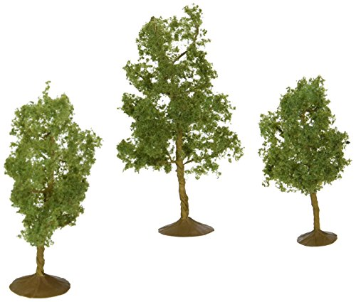 Bachmann Trains inches 4 inches Sycamore Trees 3 Per Box ()