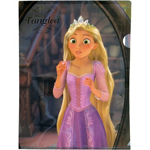 Delfino Stationary Disney 'e'hLM ART Rapunzel A4 Clear Folder DZ76363