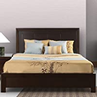 Modus Furniture 4G22F7 Element Platform Bed, King, Chocolate Brown