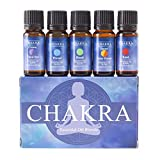 Chakra Oil Blends Gift Pack This gift pack contains 5 Essential Oil Blends that will help balance the 7 different Chakra areas of spiritual power in the human body. Crown Third Eye Chakra Essential Oil Blend: Opening your crown and third eye chakras ...