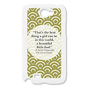 Galaxy Note 2 Cases Beautiful Little Fool Design Hard Back Cover Proctector Desgined By RRG2G