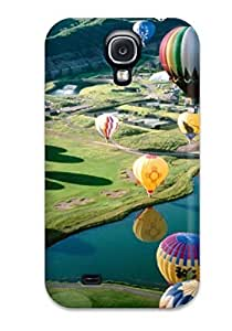 Premium Air Balloon Festival3 Back Cover Snap On Case For Galaxy S4
