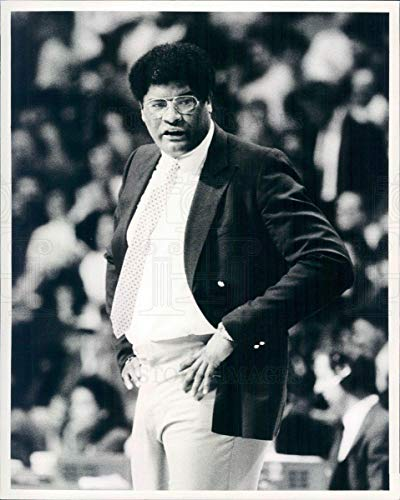 (Historic Images - Undated Vintage Press Photo NBA Washington Bullets HOF Coach Wes Unseld - snb4699)