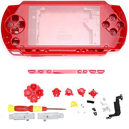 Game Console Shell, Wear-Resistant and Corrosion-Resistant Lightweight and Portable Game Console Case, for PSP1000 Game…