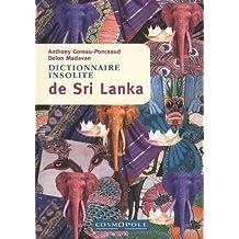 Dictionnaire insolite du Sri Lanka