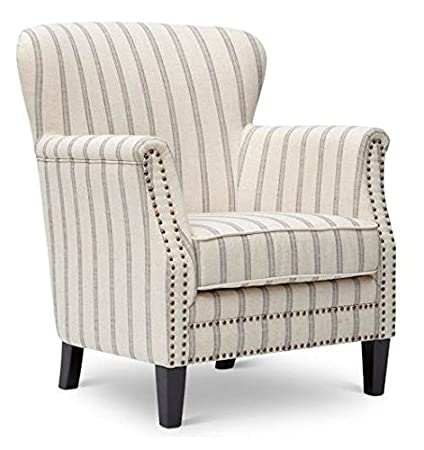 Jofran Accent Chair in Flax Finish