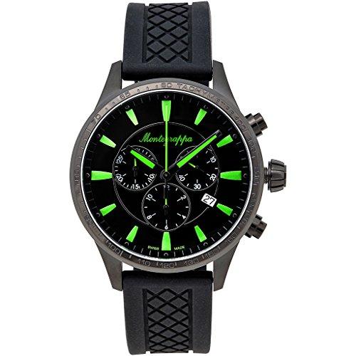Montegrappa Fortuna Chronograph Sport Watch Men's Watch Swiss Made IDFOWCSG