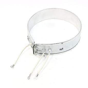 Sourcingmap – ® 220 V 160 W lazo Forma eléctrico Calefacción Resistencia para soldador olla de