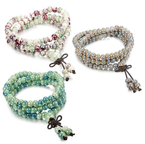 FIBO STEEL Porcelain Bracelet Elastic