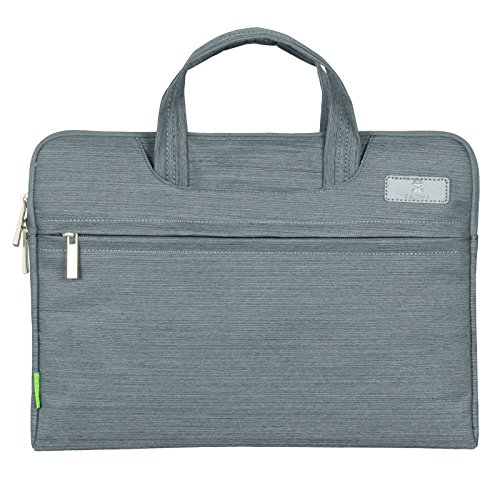 Padwa Lifestyle laptop bag 15.6 Inch Denim Fabric Pouch Soft Sleeve Carrying Briefcase Case with Handles Zipper for Laptop / Notebook Computer / MacBook / MacBook Pro / MacBook Air