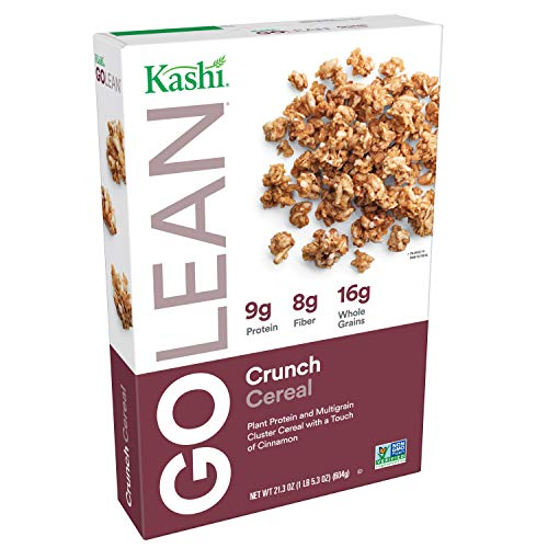Granola Cinnamon Crunch (Kashi GOLEAN, Breakfast Cereal, Crunch, Non-GMO Project Verified, 21.3 oz)