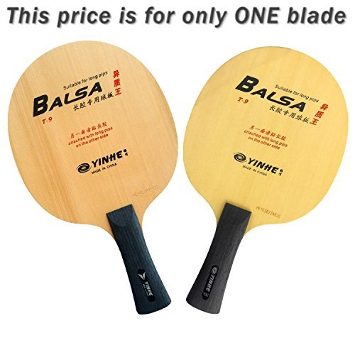 Yinhe T-9 Table Tennis Blade, Long(shakehand)-FL by YINHE