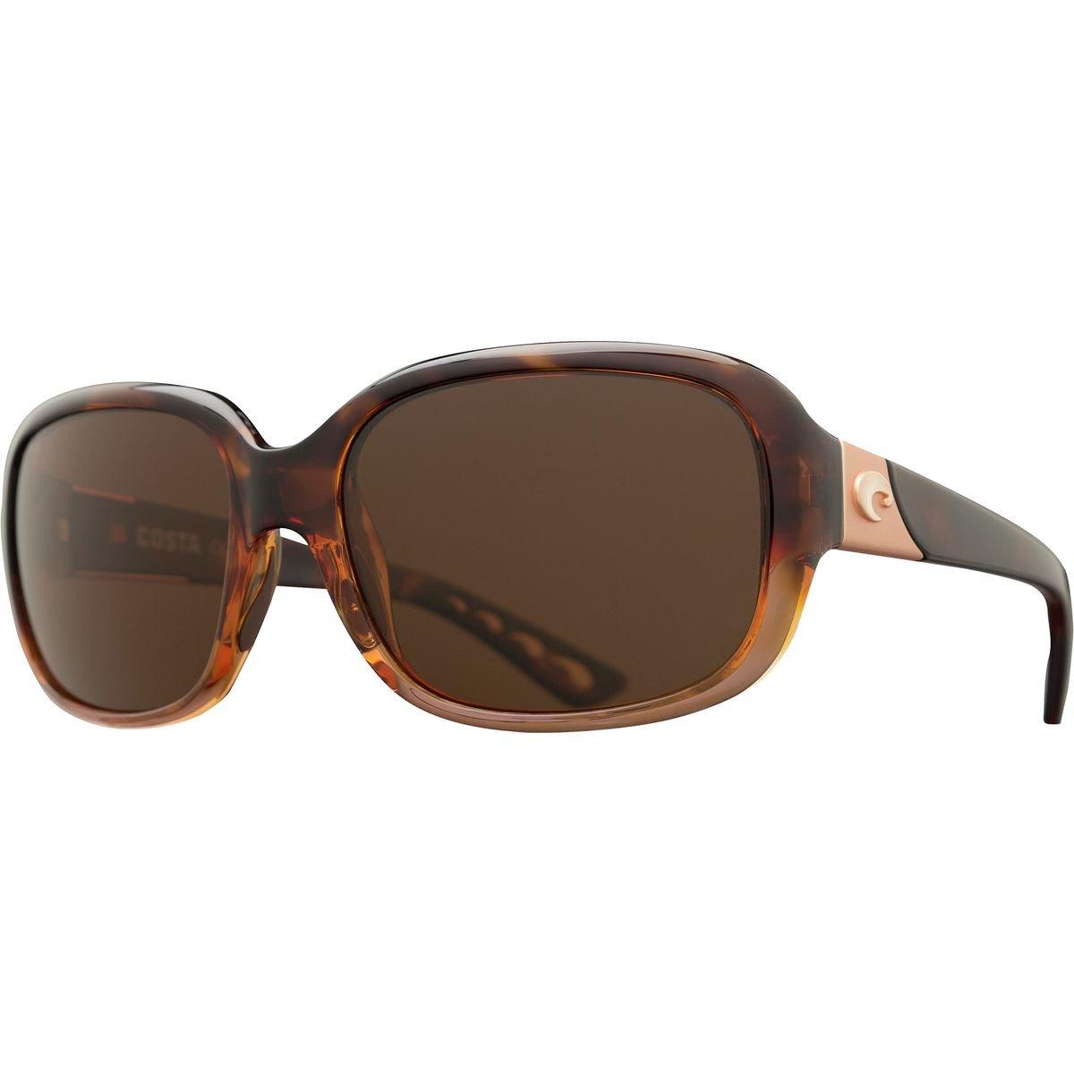Costa Gannet 580 Women g Sunglasses Costa – Polarized One – Women 's B01N7WQF3K Shiny Tortoise Frame Fade Copper One Size, 人形堂:b32644ab --- verkokajak.se
