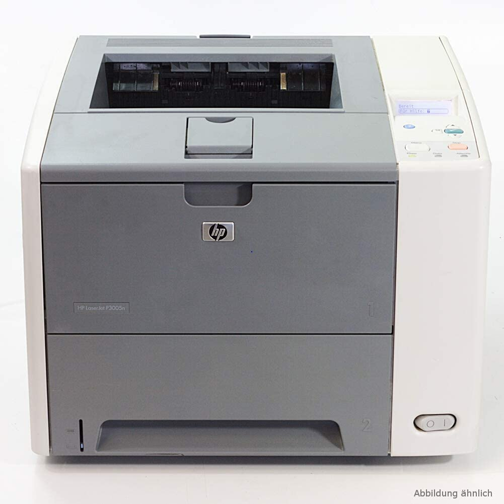 HP LaserJet P3005DN Workgroup Laser Printer 30 day refurb with NEW toner Q7815A