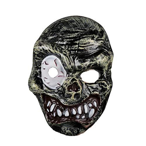 KpopBaby Halloween Horror Grimace Zombie Mask Fancy Dress Party Funny Dress up Props