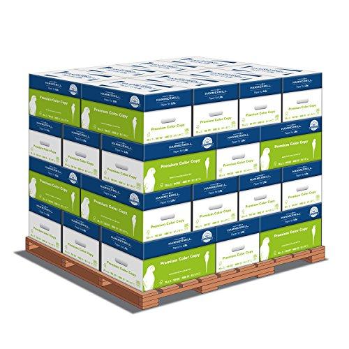 - Hammermill Color Copy Digital, Printer Paper, 100 Bright, 28lb, 8.5 x 11, Letter - 1 Pallet / 32 Cartons, 128,000 Sheets (102467P)