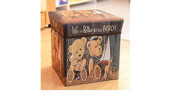 Terilizi 30X30X30 Cm Caja De Almacenamiento Plegable Caja Cúbica ...