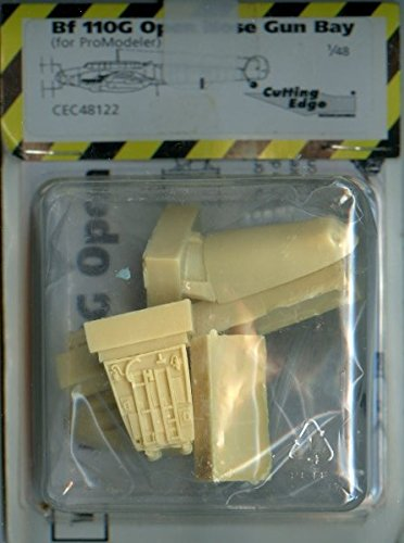 Cutting Edge 1:48 Bf 110G Open Nose Gun Bay for Promodeler, used for sale  Delivered anywhere in USA