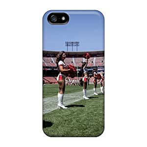 New SjilU1641csTtj San Francisco 49ers Cheerleader Tryout Tpu Cover Case For Iphone 5/5s