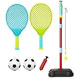 Anddoa Portable Tetherball Toys Kids Ball Game Children Outdoor Sport Play Fun Ball Set
