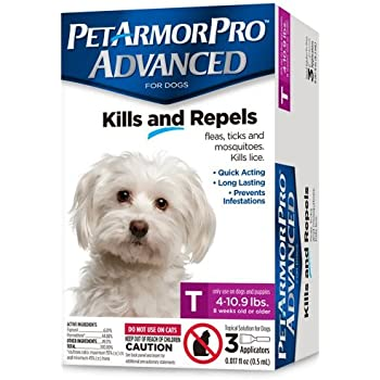 Amazon.com: 1yrs suministro de petarmor Plus, perro, 4 – 22 ...