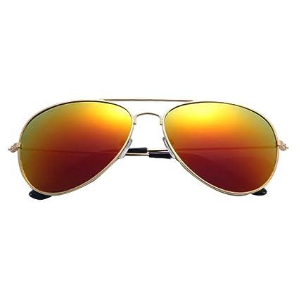 Sunday Moda Gafas de Sol Aviador Polarizado Classic Vidrios Metálico Marco de Las Mujeres y Hombre
