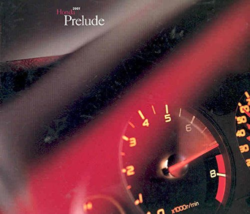 (2001 Honda Prelude Sales)