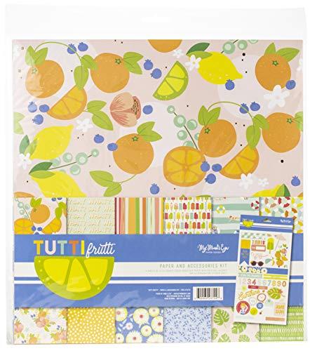 (My Minds Eye TUT111 My Paper & Accessories Kit 12