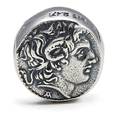 Alexander the Great Coin - Sterling Silver 925 - MelinaWorld - ()