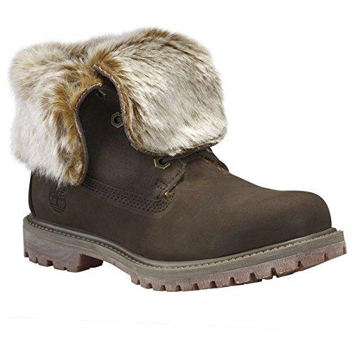 Timberland Chaussures Authentics Faux Fur Femme MARRON