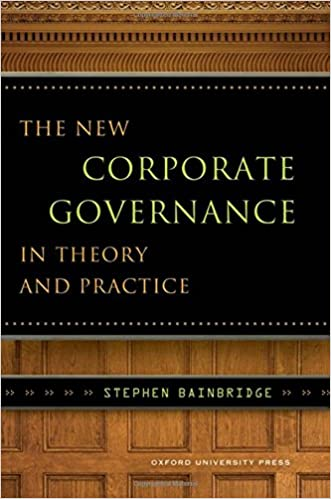 Amazon com: The New Corporate Governance in Theory and Practice