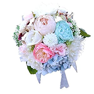 FYYDNZA Artificial Flower Emulation Flower Angel Flower Blossom Hydrangea Flower Artificial Flower Emulation Flower Silk Flower Decorative Flower 47