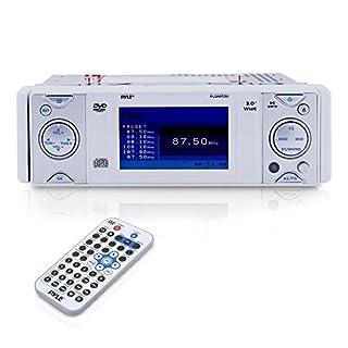 Pyle PLDMR3U In-Dash Marine CD/DVD Receiver with 3-Inch Built In Monitor (B0015AB6U2) | Amazon Products