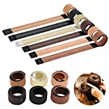 THEE Hair Bun Maker Hair Donut Hairstyle Tool Synthetic Hair Easy Making 6 Colors