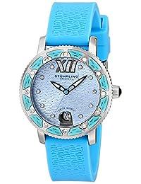 Stuhrling Original Women's Lifestyle Collection Marina Sport Swiss Watch Blue 225R.1116I6