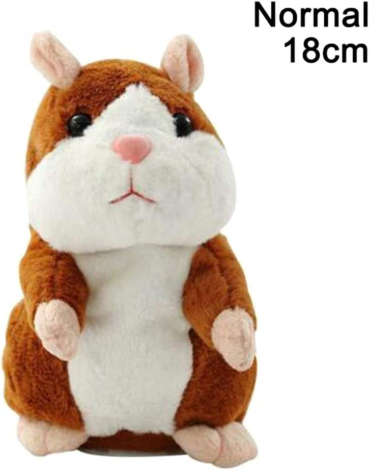 Children Cute Funny Talking Hamster Electronic Plush Toy For Kids Toy Gift
