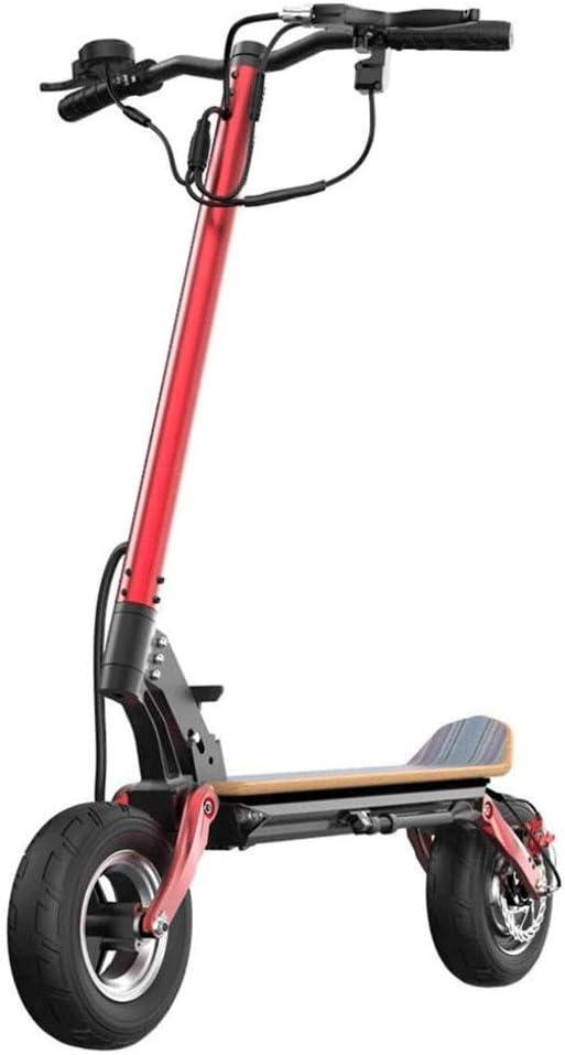 Scooter Eléctrico Adultos, Potente Motor Dual De 2000 W 40 Millas De Alcance hasta 40 Km/H Scooter Plegable Portátil con Control De Crucero Diseño Liviano para Adultos,48V12.6AH2000W