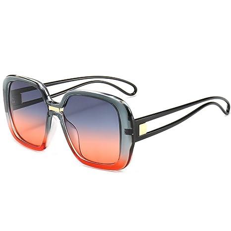 Yangjing-hl Gafas de Sol cuadradas Gafas de Sol de Moda ...