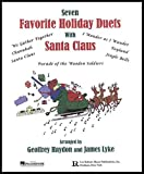 Favorite Holiday Duets with Santa Claus, Geoff Haydon and James Lyke, 0634093363