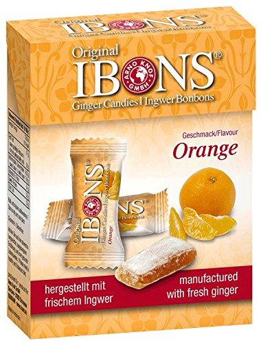 Jengibre Naranja Caramelos 60 g