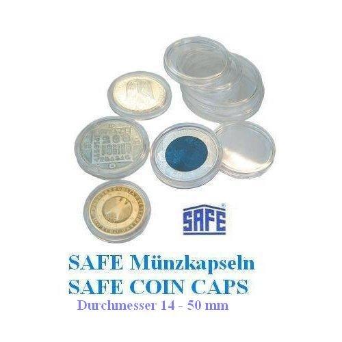 5 X Safe Münzkapseln Caps 28 Mm Ideal Für Münzen