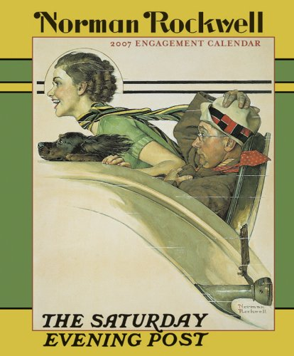 Books : Norman Rockwell 2007 Engagement Calendar The Saturday Evening Post