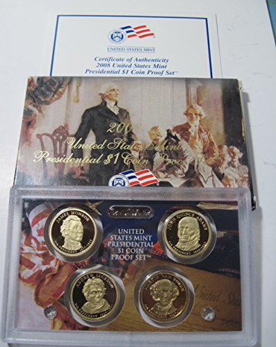 2008 S four coin Presidential collection PF69